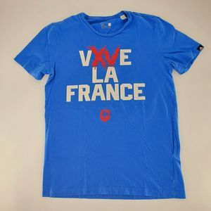 Adidas Rugby VIVE LA FRANCE T-shirt M